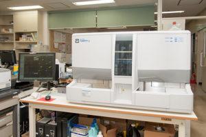 全自動血液分析装置の写真